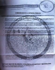 PanfletoAutodefensasGaitanistasEnero2015